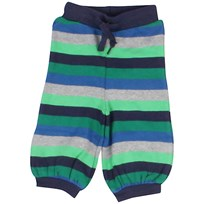 Organic Striped Pants Green