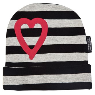 Striped Hat Black/Grey/Red, LUNDMYR of Sweden