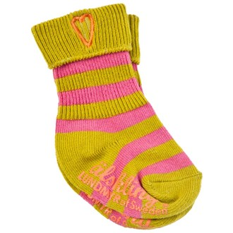 Sock Pink/Green, LUNDMYR of Sweden