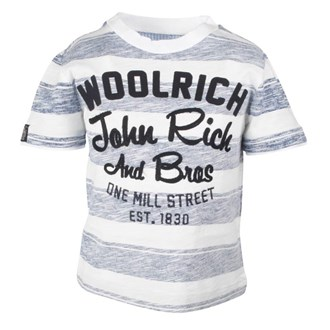 Striped Flame Jersey Grey, Woolrich