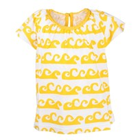 Blouse Waves Yellow