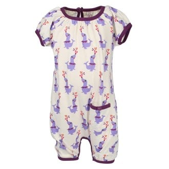 Summersuit Dancing Seal Plum, Ej sikke lej