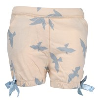 Luna Shorts Blue Freedom Birds