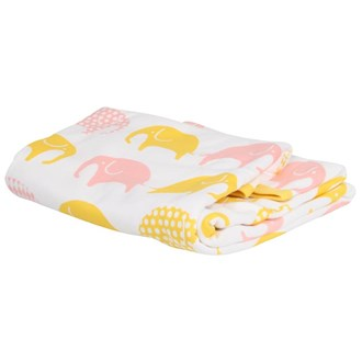 Blanket White/Yellow/Pink, Littlephant