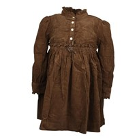 Little Shirt Dress Chocolate