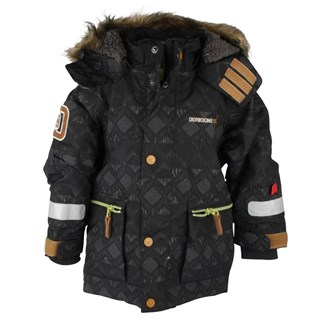 Jarvis Kids Jacket Black, Didriksons