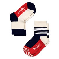 Multi Stripes White Red 2-PACK