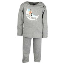 Pijamas L/S Julius Moon Grey