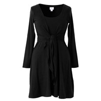 N Dress Knot Front Black