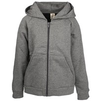 Hoody Zipper Dark Grey