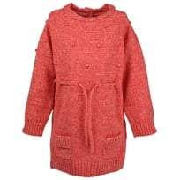 Mini Girls Sweater Knitted Red