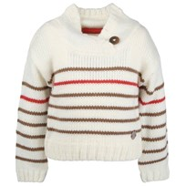 Kids Girls Sweater White