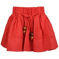 Kiko Skirt Red/Silver