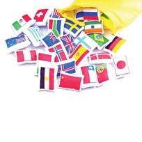 Flags For The Worldmap