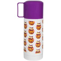 Thermos Purple Owls