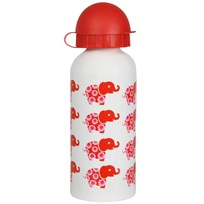 Steel Bottle Red Elephant