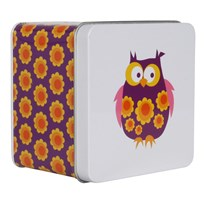 Small Box Purple Owl