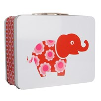 Lunchbox Red Elephant