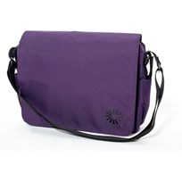 Diaper Bag Messenger Grape