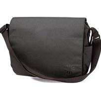 Diaper Bag Messenger Charcoal