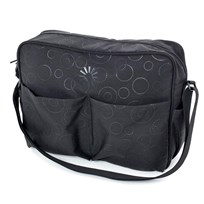 Diaper Bag Basic Black Harmony