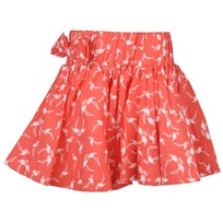 Carla Skirt Coral Flamingo