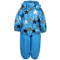 Rubber Rain Set Blue Stars