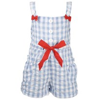 Cherly SunSuit Blue/ White