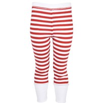 Rusty Leggings Red White Strip