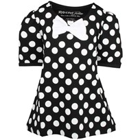 Penny Top Black W White Dots