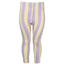 Leggings Striped Yellow/Purple