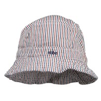 Figge Sunhat Navy/White/Red