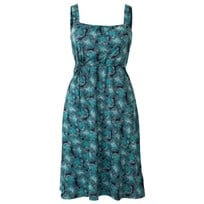 Nursing Dress Blossom Blue/gre