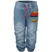 Baby Pants Rainbow Denim