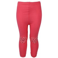 Leggings With Heart Pink