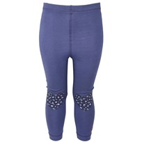 Leggings With Heart Blue