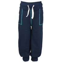 College Pants Marinblue