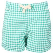 Swimshorts Green/White Check