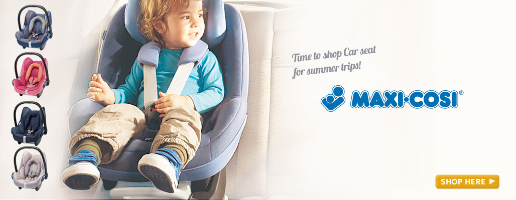Time to shop Car seat for summer trips!