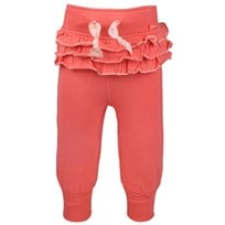 Baby Girls Pants Ruffles Coral