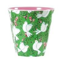 Melamine Cup Green Dove