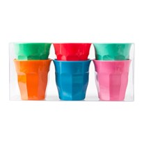 S Melamine Cup 6 STAR Colors