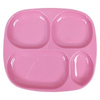 Kids 4 Room Plate Solid Pink