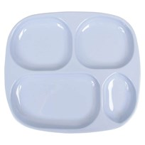 Kids 4 Room Plate Solid Blue