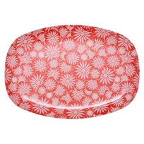 Rectang. Plate Red Casablanca