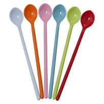 Long spoons 6 Assorted Colors
