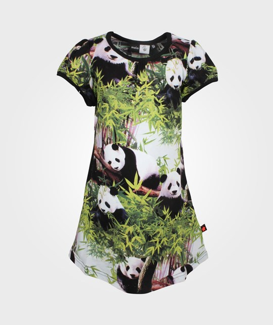 Molo Camellia Dress Pandas Multi
