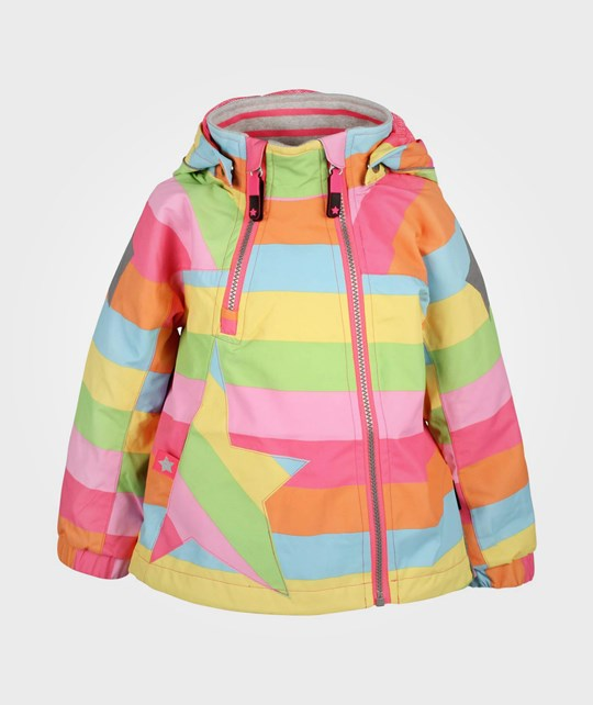 Molo Hopla Jacket Girly Rainbow Multi