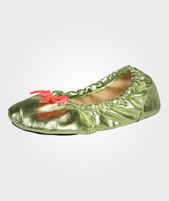Molo Ballet Shoe Slipper Honey Dew Green