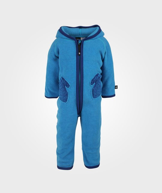Molo Udo Fleece Suit Electric Blue Blue